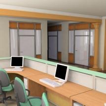 The Modern Office Interio